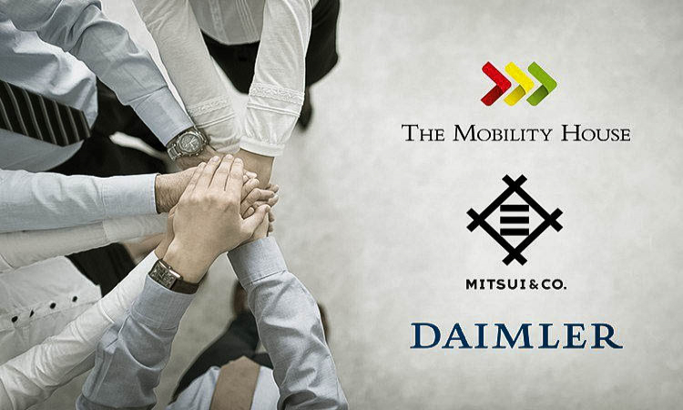 Daimler and Mitsui Share The Mobility House's Vision