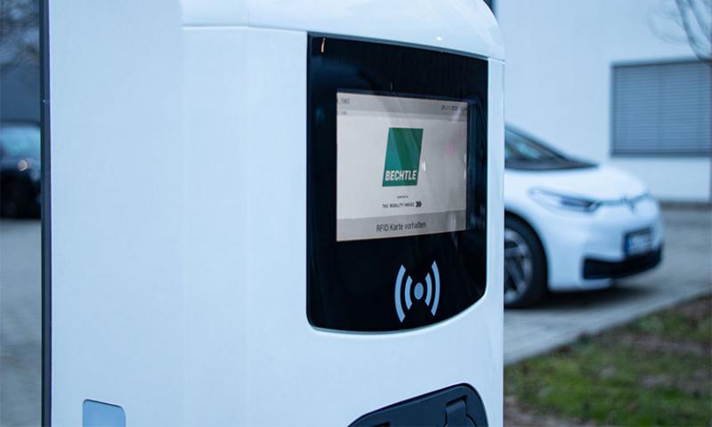 Bechtle, Kreor und The Mobility House bauen einen der größten Ladeparks für Elektro-Dienstwagen in Deutschland