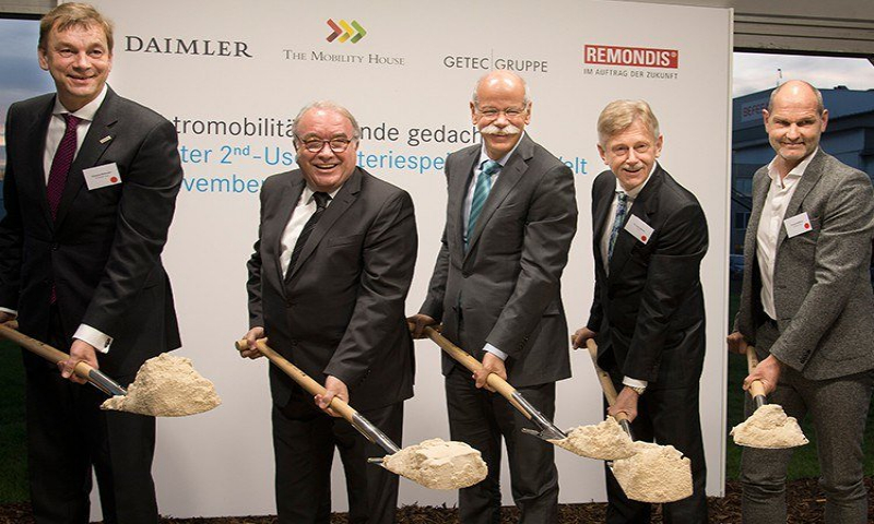 Ground-Breaking Ceremony for the World's Largest 2nd-use Stationary Storage in Lünen