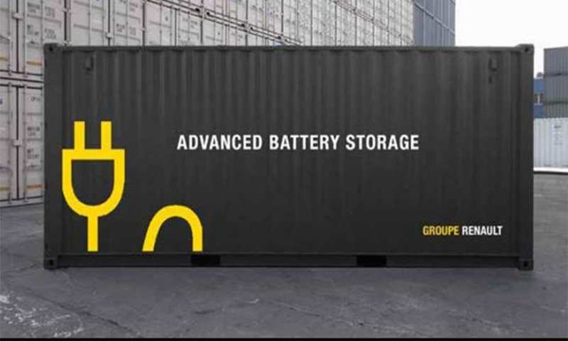 The Mobility House offers turn key storage containers to industries and grid operators