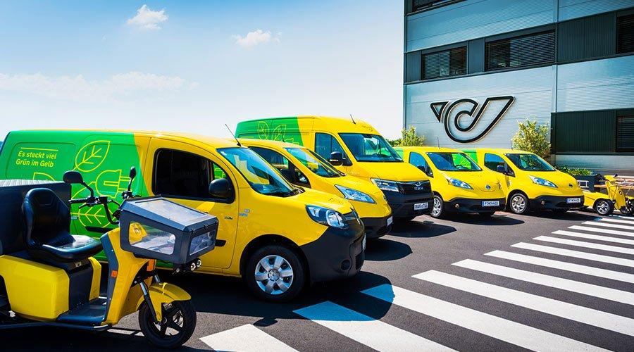 Österreichische Post setzt auf intelligentes Laden, spart Kosten und errichtet modernes Ladenetzwerk