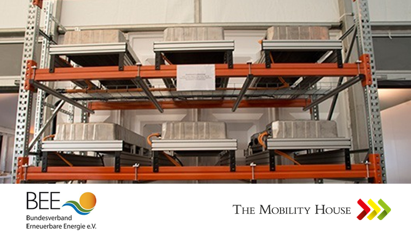 BEE Studie: Alte Elektroautobatterien bergen gewaltiges Speicherpotential