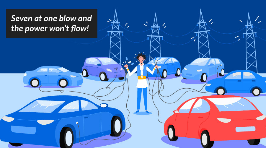 Fairy tales of e-mobility: Once upon a time... there was the threat of a blackout!