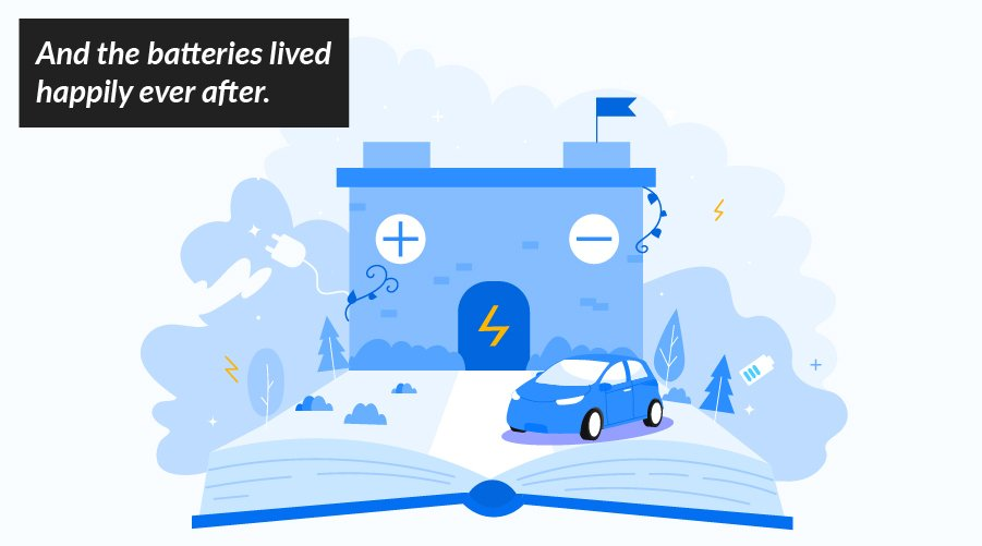 Fairy tales of e-mobility: Once upon a time… there was the short life of the electric car battery!