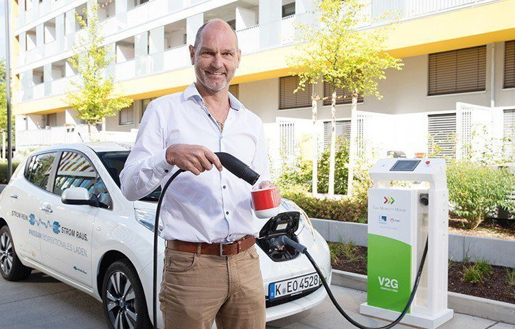 The Mobility House Brews Coffee Using Green Electricity from an Electric Car