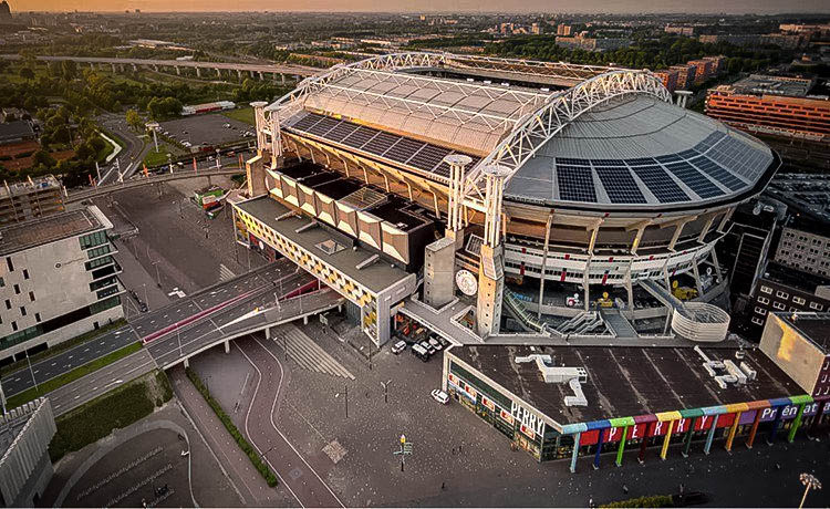 The Mobility House Realizes 3 MW Stationary Storage at Amsterdam ArenA
