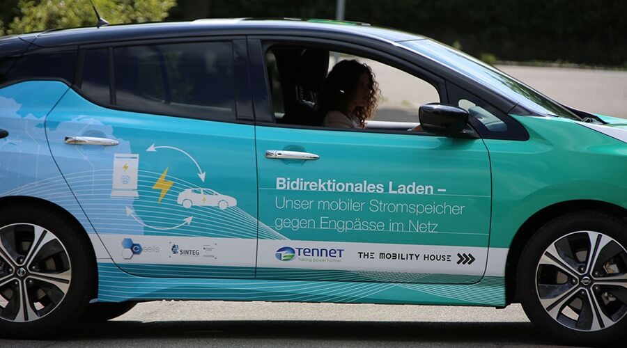 Nissan, TenneT and The Mobility House: Electric cars increase the integration of wind energy and reduce CO2