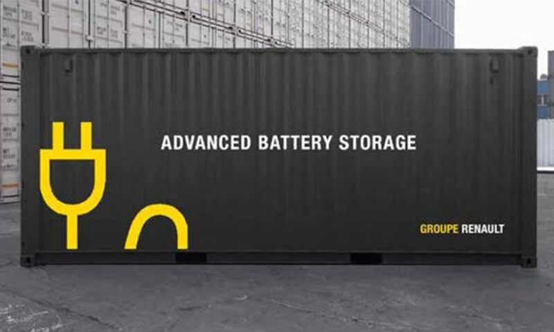 Advanced Battery Storage in Zusammenarbeit mit Groupe Renault