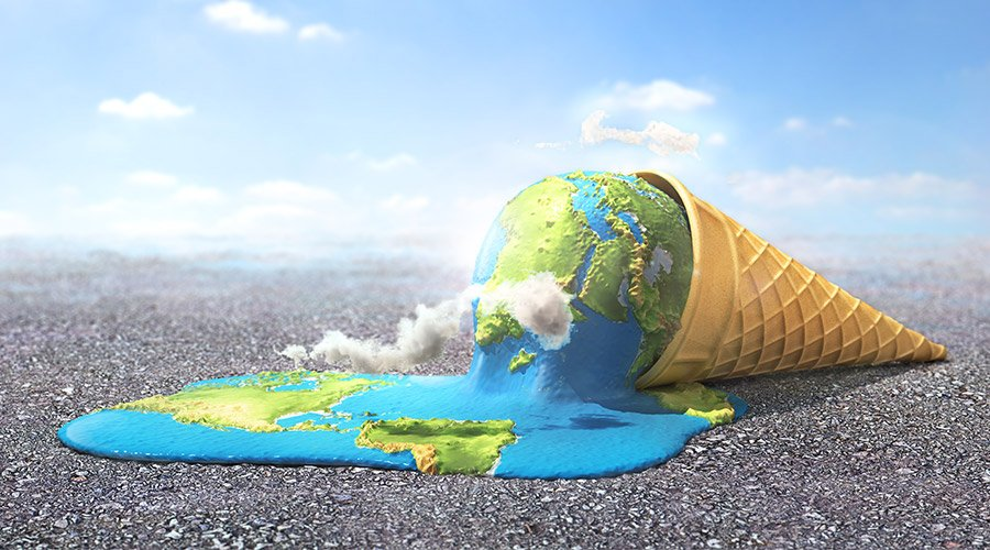 Our planet in times of global warming, image source: Shutterstock