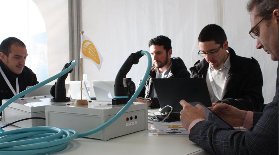 The Mobility House auf dem Global EV Charging Test
