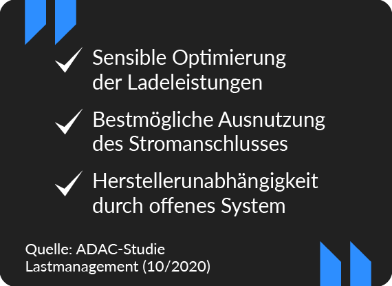 ADAC Studie Lastmanagement