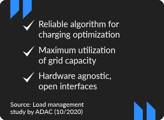 ADAC study: ChargePilot convinces as an open system for business applications