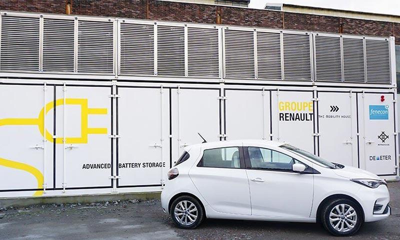 Advanced Battery Storage in Zusammenarbeit mit Groupe Renault
