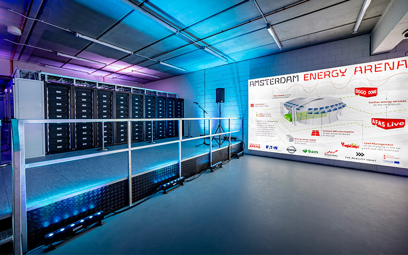 Battery Storage Amsterdam