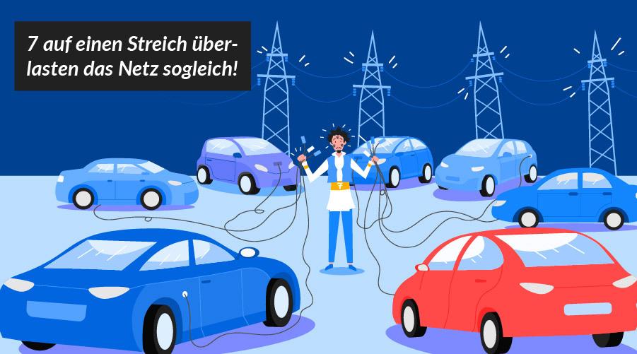 Stimmt es oder nicht: Belasten E-Autos das Stromnetz?