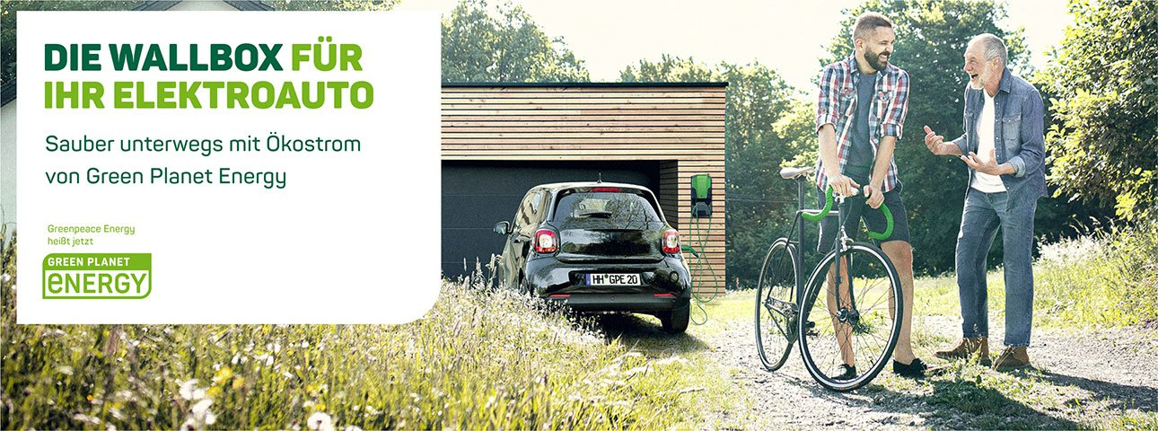 Kooperation Green Planet Energy & The Mobility House