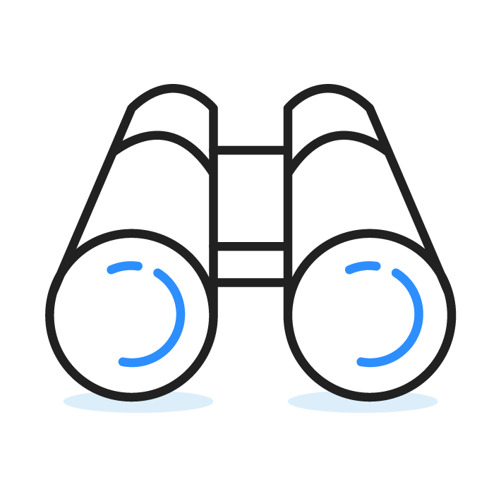 Icon Fernglas Vision