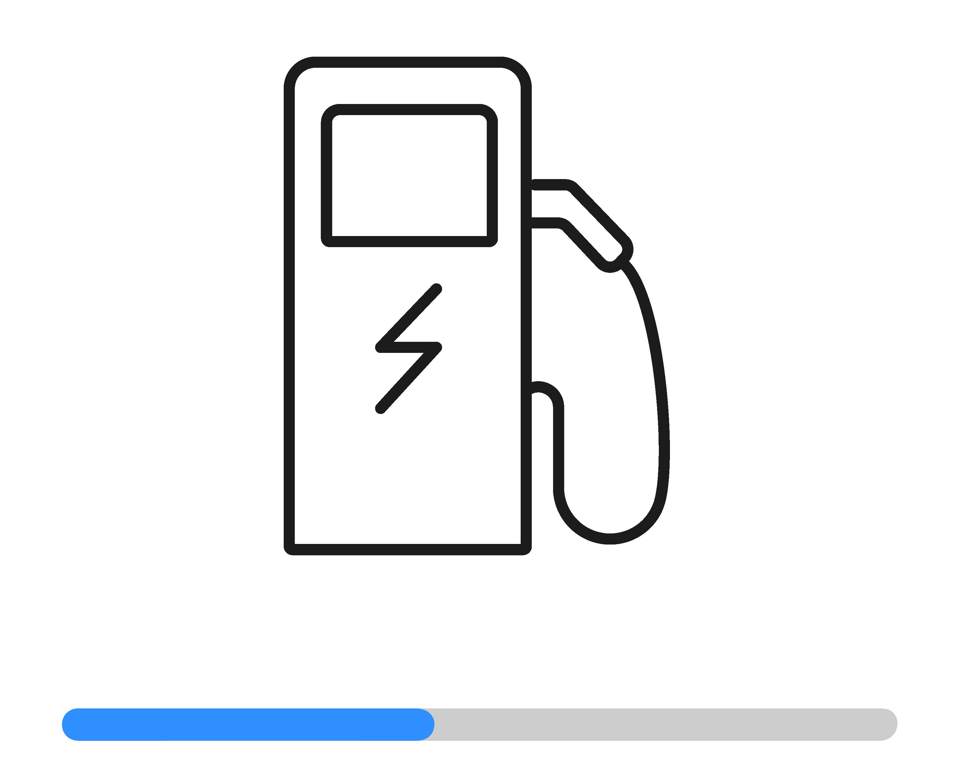 Icon- Ladestation auswählen