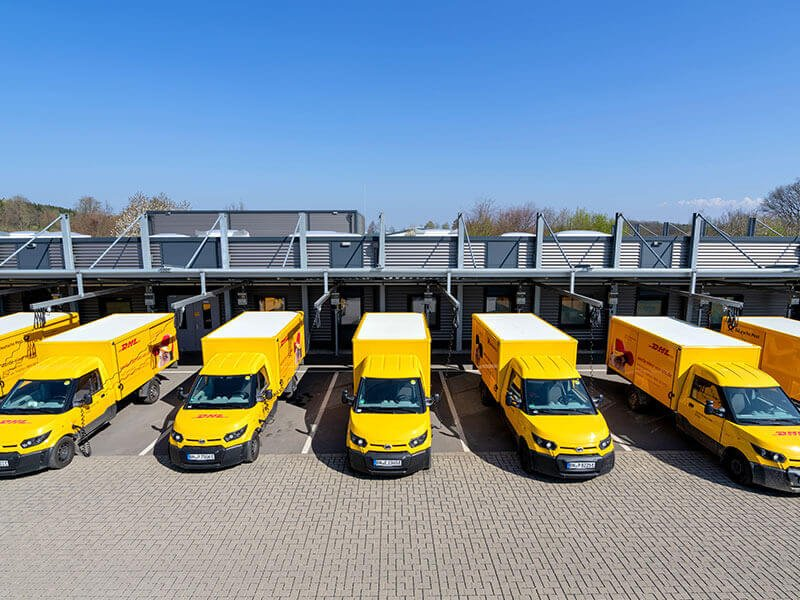 Vorteile für Logistikflotten