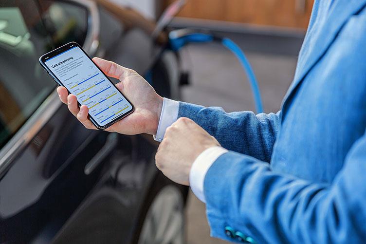 App für Laden mit der mobilen Ladestation von NGRkick