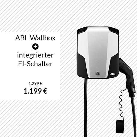 ABL Wallbox 22 kW - integrierter FI-Schalter
