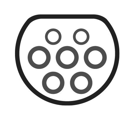 Grafik Typ 2-Stecker