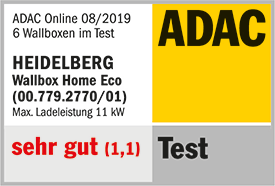 ADAC Wallbox-Testsieger: Heidelberg Wallbox