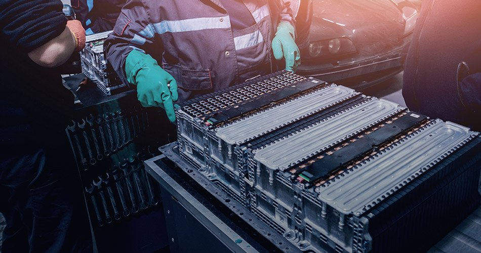 Reparatur Batterie Elektroauto