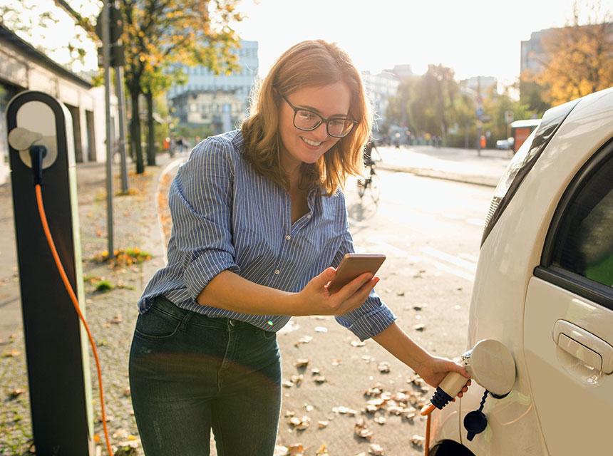 Mobil abrechnen mit einer Lade-App