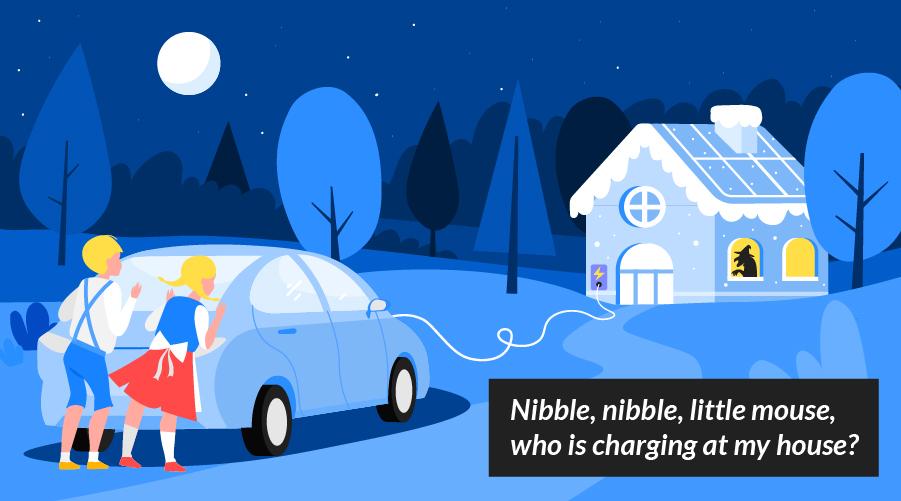 Dangerous driving electric vehicle