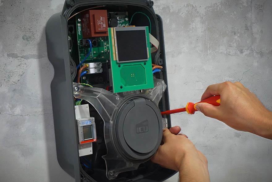 Installation einer Wallbox für Elektroautos im Mietshaus