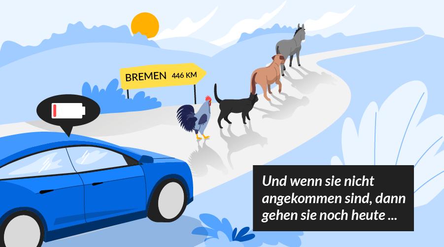 Märchen der Elektromobilität - #1: Geringe Reichweite