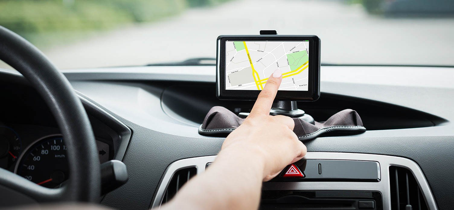 Navigation system in the electric car