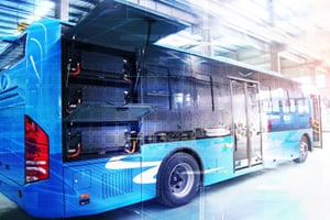 rnv electric bus fleet