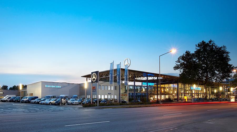 Ladeinfrastruktur Konzept für das Autohaus Rosier