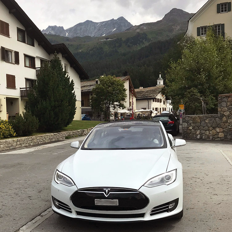 Tesla Model S - bought from the used car marked
