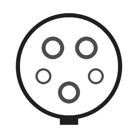 Typ 1 Stecker für Elektroautos
