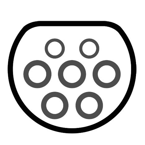 Typ 2 Stecker für Elektroautos